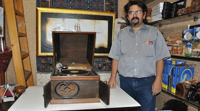 110 Yıllık Orijinal Gramafon