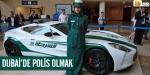 Dubai polisinin garajı lüks otomobil galerisine döndü