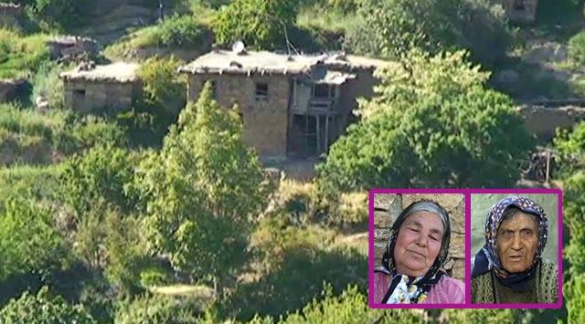 Bu köyde sadece 2 kadın yaşıyor