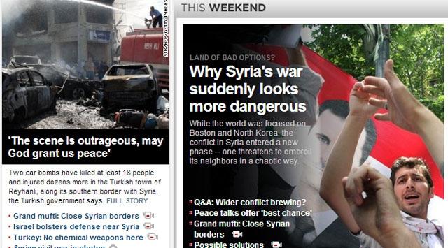 Dünya medyası saldırıyı manşetten duyurdu