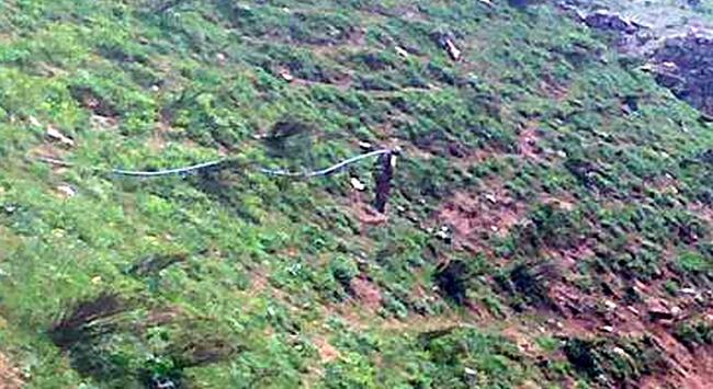 Şemdinlide 4 kmlik kaçakçılık borusu