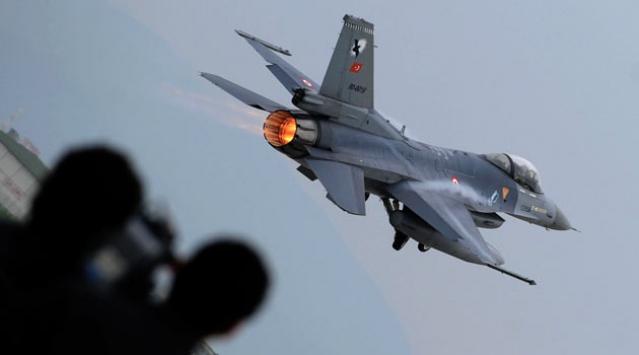 Düşen F-16nın pilotu şehit oldu