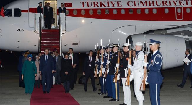 Başbakan Erdoğan Amerikada