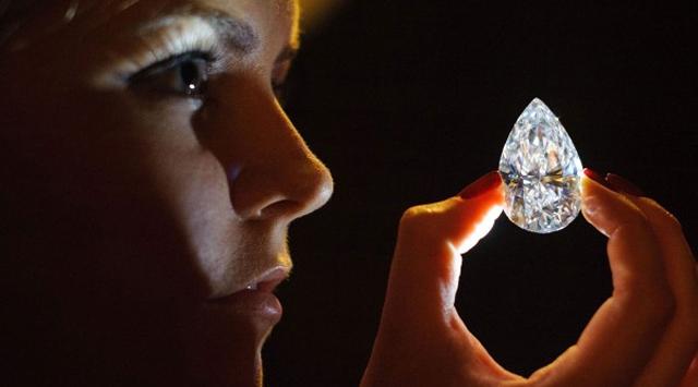 26 milyon 700 bin dolarlık elmas…