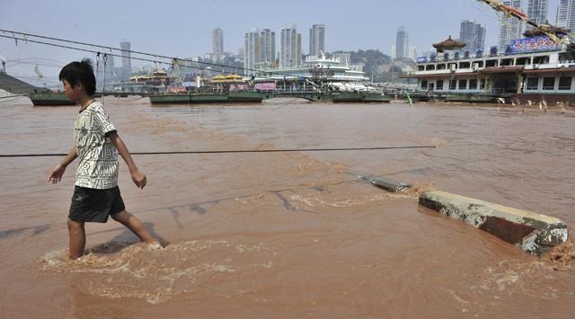 Çinde şiddetli yağışlar: 33 ölü