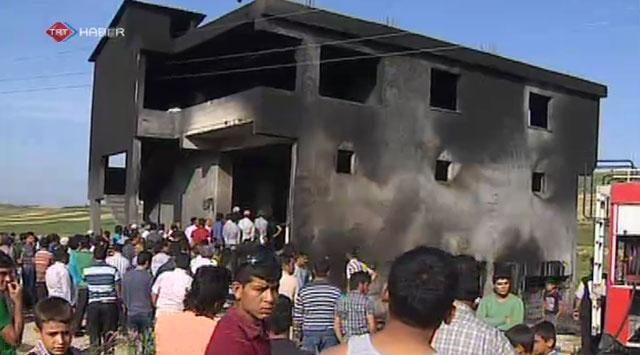 Hatayda akaryakıt tankerinde patlama: 10 ölü