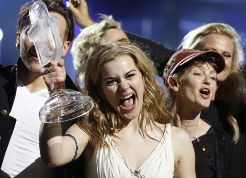 Eurovisionda birinci Danimarka