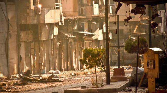 Esed güçleri stratejik kente girdi