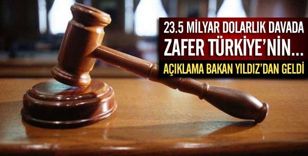 Uzanın Türkiye aleyhine açtığı davada karar