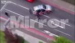 İşte Londra saldırganın vurulma anı