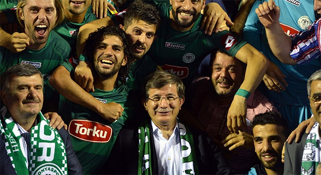 Konyaspora ilk kutlama twitterdan