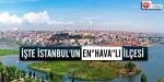 """İşte İstanbulun """"hava""""lı ilçesi..."""