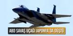 ABD savaş uçağı Japonyada düştü