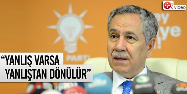 Bülent Arınçtan Gezi Parkı açıklaması