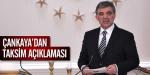 Çankayadan Taksim açıklaması