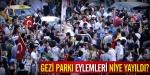 Gezi Parkı eylemleri niye yayıldı?