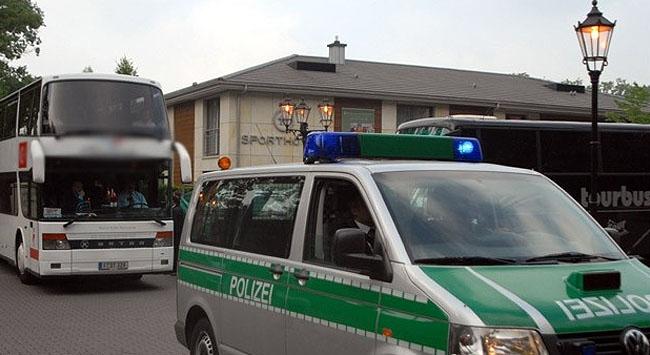 Alman şoförden Türk aileye çirkin saldırı