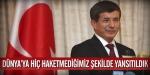 Davutoğlu, Gezi Parkı olaylarını Twitterda değerlendirdi