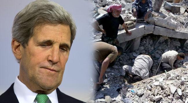 """Kerryden """"geç kaldık"""" itirafı"""