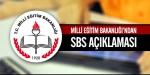 SBS ertelenecek mi?