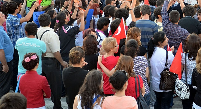 261 gösterici serbest bırakıldı