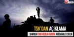 TSKdan sınırda müdahale açıklaması