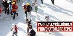 Gezi Parkı eylemcilerinden provokatörlere tepki