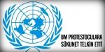 BM protestoculara sükunet telkin etti