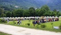 Okullar tatil oldu, izciler kampa çıktı