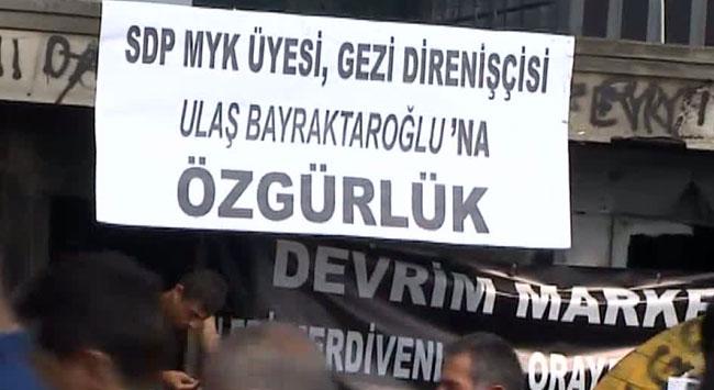 Gezi Parkında terör örgütleri boy gösteriyor