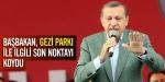 Başbakandan Geziye mesaj