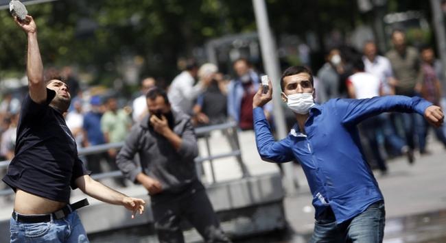 Ankaradaki Gezi eyleminde gözaltılar