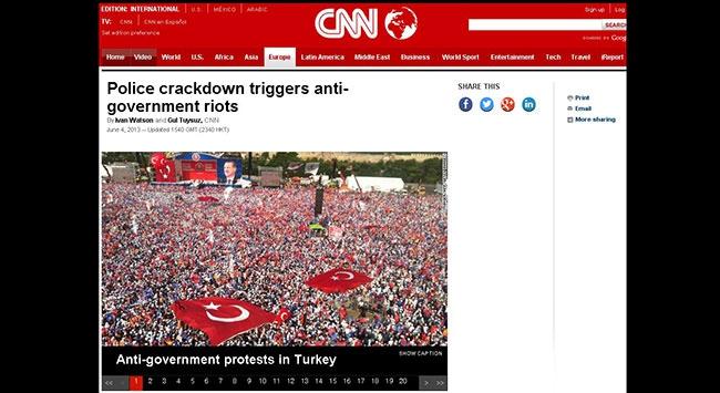 CNNden kafa karıştıran fotoğraf