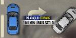 İki araçlık otopark 1 milyon liraya satıldı