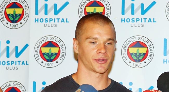 Fenerbahçede Holmen sevinci