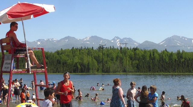 Alaskada sıcaklık rekoru