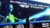 Gezici UFO Müzesi'ne Büyük İlgi