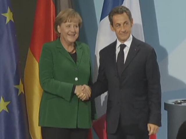 Merkel ve Sarkozyden Krize Karşı Uzlaşı