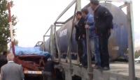 Erzincan'da Tren Minibüse Çarptı