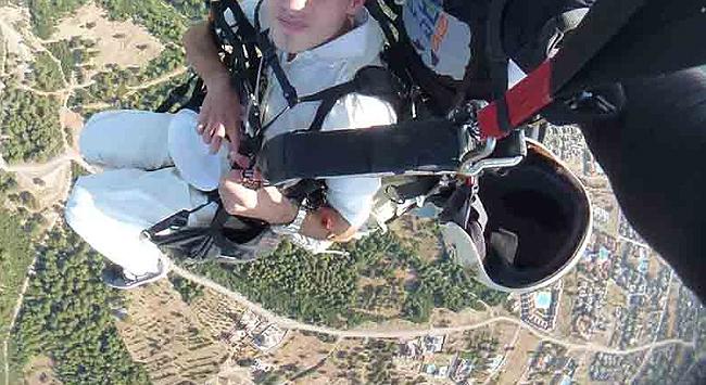 İskenderunda paraşüt kazası