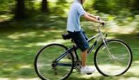Her gün 16 kilometre bisiklet sürüyor