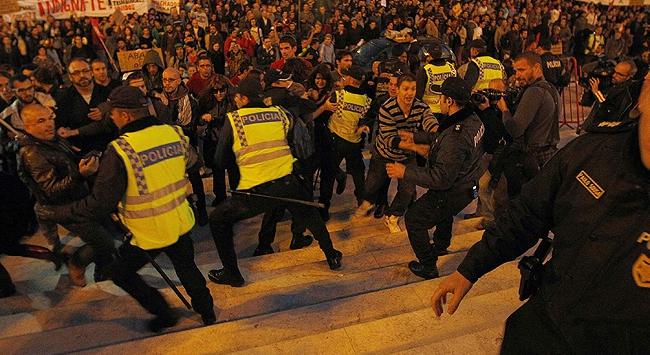 Portekizde grev dalgası