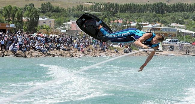 Van gölünde uluslararası festival