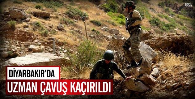 Diyarbakırda uzman çavuş kaçırıldı