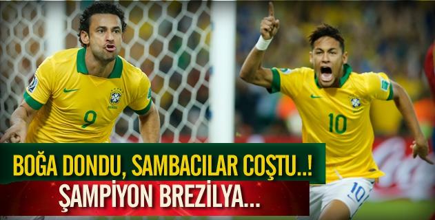 İspanyaya fark atan Brezilya ŞAMPİYON!