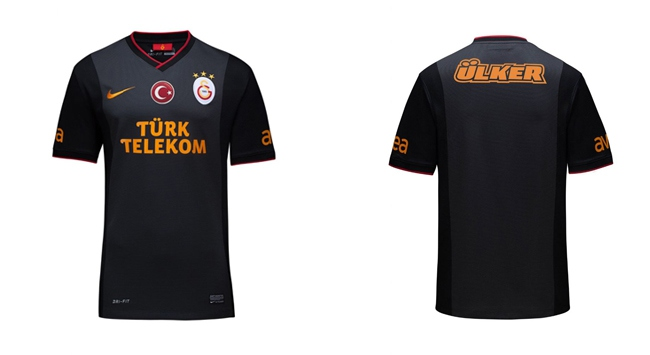 Galatasaray dış saha formasını tanıttı