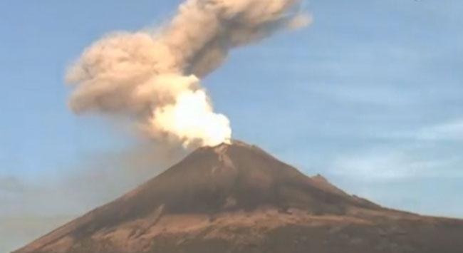 Volkan böyle faaliyete geçti