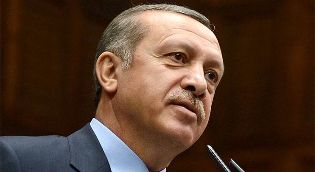 Erdoğandan tebrik mesajı