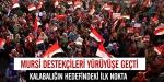 Mursi destekçileri yürüyüşe geçti