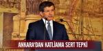 Ankaradan katliama sert tepki
